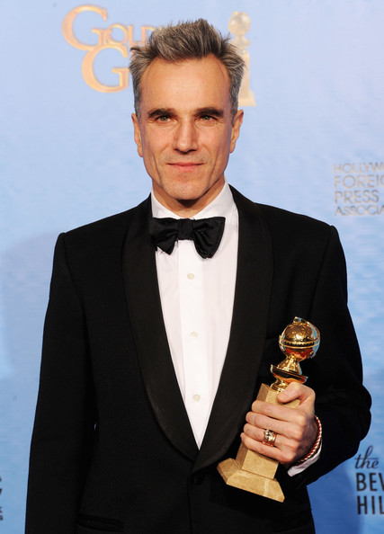 "Actor Daniel Day-Lewis, winner of Best Actor in a Motion Picture (Drama) for ""Lincoln,"" poses in the press room during the 70th Annual Golden Globe Awards held at The Beverly Hilton Hotel on January 13, 2013 in Beverly Hills, California."