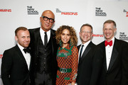 (L-R) Burak Cakmak, Marco Bizzarri, Cleo Wade, Joel Towers, and David Van Zandt attend the 70th Annual Parsons Benefit on May 21, 2018 in New York City.