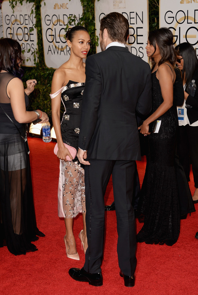 Zoe Saldana And Chris Pine Chris Pine and Zoe Sal...