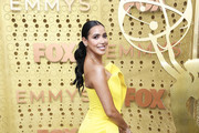 Julissa Bermudez attends the 71st Emmy Awards at Microsoft Theater on September 22, 2019 in Los Angeles, California.
