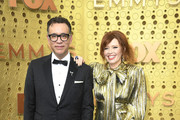 (L-R) Fred Armisen and Natasha Lyonne attend the 71st Emmy Awards at Microsoft Theater on September 22, 2019 in Los Angeles, California.