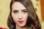 Image has been edited using digital filters) Zoe Kazan arrives at the 71st Emmy Awards at Microsoft Theater on September 22, 2019 in Los Angeles, California.