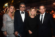 (L-R) Christine Taylor, Eugene Levy, Deborah Divine and Ben Stiller attend the Governors Ball during the 71st Emmy Awards at L.A. Live Event Deck on September 22, 2019 in Los Angeles, California.