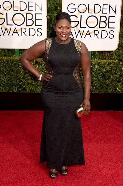 Actress Danielle Brooks attends the 72nd Annual Golden Globe Awards at The Beverly Hilton Hotel on January 11, 2015 in Beverly Hills, California.