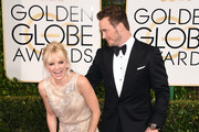 Anna Faris and Chris Pratt - The Hottest Couples at the 2015 Golden Globes