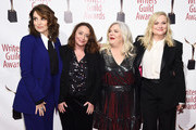 Tina Fey, Rachel Dratch, Paula Pell, and Amy Poehler attend the 72nd Writers Guild Awards at Edison Ballroom on February 01, 2020 in New York City.