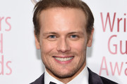 Sam Heughan attends the 72nd Writers Guild Awards at Edison Ballroom on February 01, 2020 in New York City.