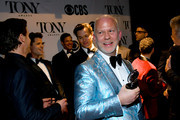 Ryan Murphy poses backstage  at the 73rd Annual Tony Awards at Radio City Music Hall on June 09, 2019 in New York City.
