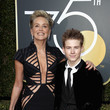Sharon Stone and Roan Joseph Bronstein Photos