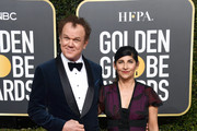 John C. Reilly (L) and Alison Dickey attend the 76th Annual Golden Globe Awards at The Beverly Hilton Hotel on January 6, 2019 in Beverly Hills, California.