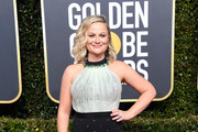 Amy Poehler attends the 76th Annual Golden Globe Awards at The Beverly Hilton Hotel on January 6, 2019 in Beverly Hills, California.