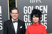 Daniel Palladino (L) and Amy Sherman-Palladino attend the 76th Annual Golden Globe Awards at The Beverly Hilton Hotel on January 6, 2019 in Beverly Hills, California.