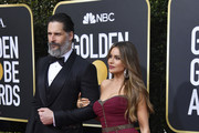 (L-R) Joe Manganiello and Sofía Vergara attend the 77th Annual Golden Globe Awards at The Beverly Hilton Hotel on January 05, 2020 in Beverly Hills, California.