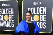 Janina Gavankar attends the 77th Annual Golden Globe Awards at The Beverly Hilton Hotel on January 05, 2020 in Beverly Hills, California.