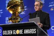 Tim Allen speaks at the 77th Annual Golden Globe Awards Nominations Announcement at The Beverly Hilton Hotel on December 09, 2019 in Beverly Hills, California.