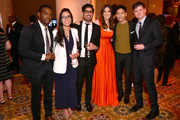 William Jackson Harper, Kashif Shaikh, D'Arcy Carden, Manny Jacinto and Michael Schur attend the 78th Annual Peabody Awards Ceremony Sponsored By Mercedes-Benz at Cipriani Wall Street on May 18, 2019 in New York City.