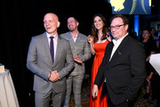 (L-R) Anthony Carrigan, Rightor Doyle, D'Arcy Carden, and Stephen Root attend the 78th Annual Peabody Awards Ceremony Sponsored By Mercedes-Benz at Cipriani Wall Street on May 18, 2019 in New York City.