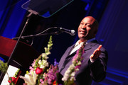 Honoree and director John Singleton speaks onstage at the 7th Annual AAFCA Awards on February 10, 2016 in Los Angeles, California.