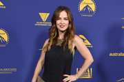 Actress Victoria Hill arrives at the 7th Annual Australians In Film Award & Benefit Dinner at Paramount Studios on October 24, 2018 in Los Angeles, California.