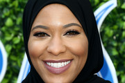 Ibtihaj Muhammad attends the 7th Annual Gold Meets Golden at Virginia Robinson Gardens and Estate on January 04, 2020 in Los Angeles, California.