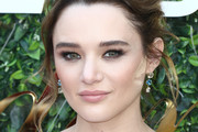 Hunter King attends the 7th Annual Gold Meets Golden at Virginia Robinson Gardens and Estate on January 04, 2020 in Los Angeles, California.