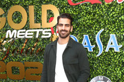Nyle DiMarco attends the 7th Annual Gold Meets Golden at Virginia Robinson Gardens and Estate on January 04, 2020 in Los Angeles, California.