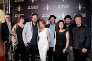 Josh Mix, Megan Garrett, Mark Hall  of musical group Casting Crowns, Kathie Lee Gifford, Juan DeVevo, Melodee DeVevo, guest and Brian Scoggin of musical group Casting Crowns attend the 7th Annual K-LOVE Fan Awards at The Grand Ole Opry House on June 2, 2019 in Nashville, Tennessee.