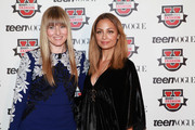 Amy Astley (L) and Nicole Richie attend Teen Vogue Fashion University at the Hudson Theatre on October 20, 2012 in New York City.