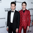 Peter Brant and Harry Brant Photos