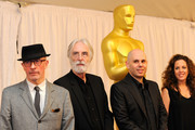 """(L-R) Directors Jacques Audiard """"A Prophet"""", Michael Haneke """"The White Ribbon"""", Yaron Shani """"Ajami"""", Claudia Llosa """"The Milk Of Sorrow"""" attend the Academy Awards Foreign Language Film Award directors photo op at the Kodak Theatre on March 5, 2010 in Hollywood, California."""