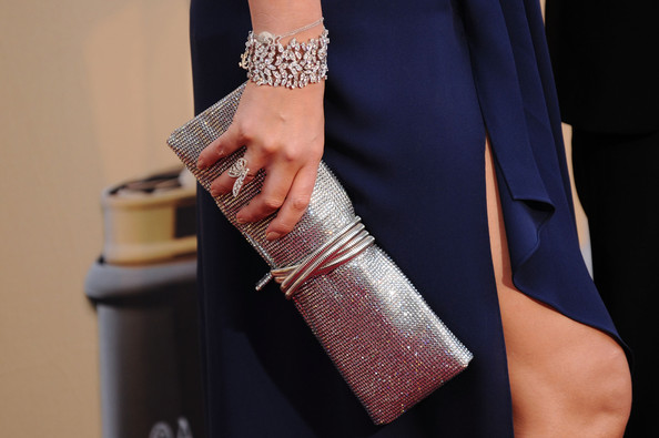 Mariah Carey Singer/actress Mariah Carey (purse detail) arrives at the 82nd Annual Academy Awards held at Kodak Theatre on March 7, 2010 in Hollywood, California.