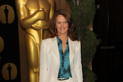 Actress Melissa Leo arrives at the 83rd Academy Awards nominations luncheon held at the Beverly Hilton Hotel on February 7, 2011 in Beverly Hills, California.