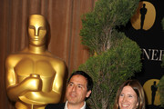 Director David O. Russell and Pamela Martin arrive at the 83rd Academy Awards nominations luncheon held at the Beverly Hilton Hotel on February 7, 2011 in Beverly Hills, California.