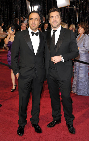 Director Alejandro Gonzalez Inarritu (L) and actor Javier Bardem arrive at the 83rd Annual Academy Awards held at the Kodak Theatre on February 27, 2011 in Hollywood, California.