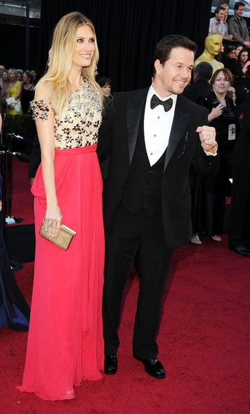 Actor Mark Wahlberg and wife Rhea Durham arrives at the 83rd Annual Academy Awards held at the Kodak Theatre on February 27, 2011 in Hollywood, California.