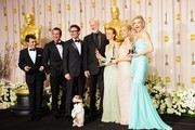Penelope Ann Miller and Uggie Photos Photo