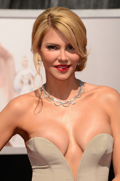 Actress Brandi Glanville attends the Oscars at Hollywood & Highland Center on February 24, 2013 in Hollywood, California.