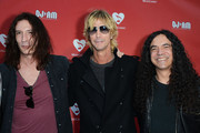 Musician Duff McKagan (C) with Sean Kinney (L) and Mike Inez (R) of Alice in Chains arrive at the 8th Annual MusiCares MAP Fund Benefit at Club Nokia on May 31, 2012 in Los Angeles, California. The MusiCares MAP Fund benefit raises resources for the MusiCares MAP Fund, which provides members of the music community access to addiction recovery treatment. More information at musicares.org.