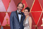 Luca Guadagnino (L) and guest attend the 90th Annual Academy Awards at Hollywood & Highland Center on March 4, 2018 in Hollywood, California.