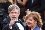 Mark Hamill (L) and Marilou York attend the 90th Annual Academy Awards at Hollywood & Highland Center on March 4, 2018 in Hollywood, California.