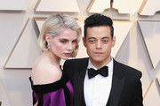 Lucy Boynton and Rami Malek attends the 91st Annual Academy Awards at Hollywood and Highland on February 24, 2019 in Hollywood, California.