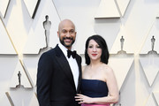 (L-R) Keegan-Michael Key and Elisa Pugliese attend the 91st Annual Academy Awards at Hollywood and Highland on February 24, 2019 in Hollywood, California.