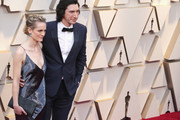 Joanne Tucker and Adam Driver attends the 91st Annual Academy Awards at Hollywood and Highland on February 24, 2019 in Hollywood, California.