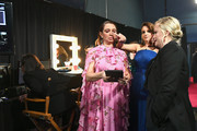 In this handout provided by A.M.P.A.S., Maya Rudolph, Tina Fey, and Amy Poehler pose backstage during the 91st Annual Academy Awards at the Dolby Theatre on February 24, 2019 in Hollywood, California.