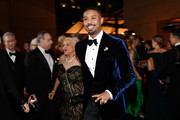 (L-R) Donna Jordan and Michael B. Jordan attend the 91st Annual Academy Awards Governors Ball at Hollywood and Highland on February 24, 2019 in Hollywood, California.
