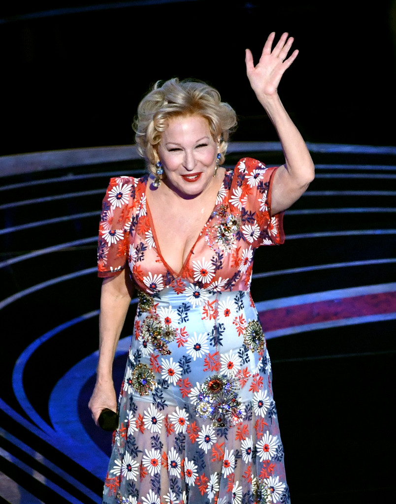 "Bette Midler&squot;s Oscars Performance Of ""The Place Where Lost Things Go"" Was Pure Magic"