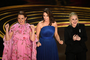 (L-R) Maya Rudolph, Tina Fey, and Amy Poehler speak onstage during the 91st Annual Academy Awards at Dolby Theatre on February 24, 2019 in Hollywood, California.