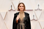 Natalie Portman` attends the 92nd Annual Academy Awards at Hollywood and Highland on February 09, 2020 in Hollywood, California.