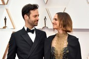 (L-R) Benjamin Millepied and Natalie Portman attend the 92nd Annual Academy Awards at Hollywood and Highland on February 09, 2020 in Hollywood, California.