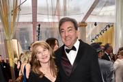 Peter Del Vecho (R) attends the 92nd Annual Academy Awards at Hollywood and Highland on February 09, 2020 in Hollywood, California.